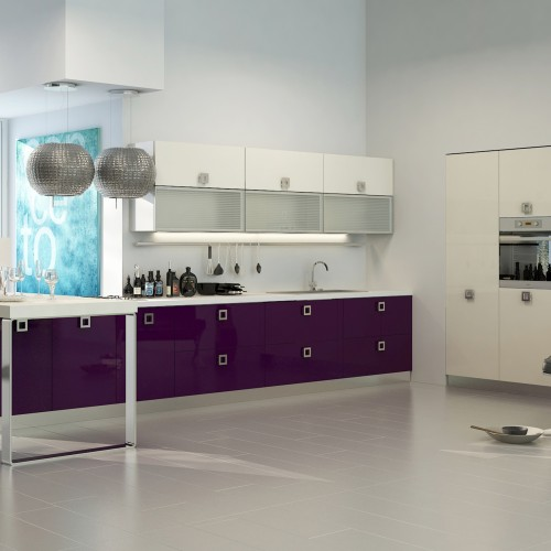 Stay cool in a funky modern kitchen and living space