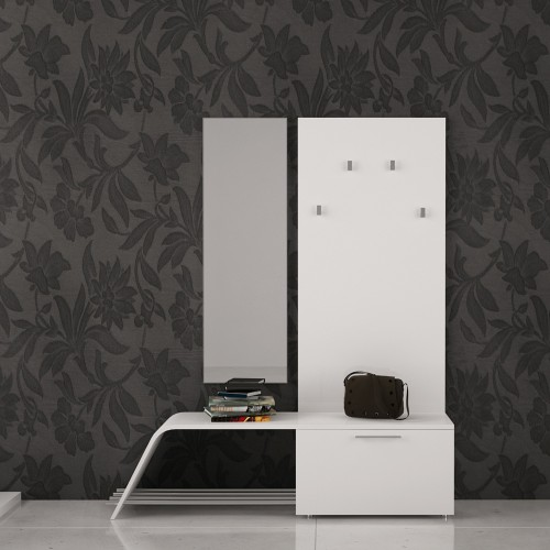 Parambulate through a stylish hall way space
