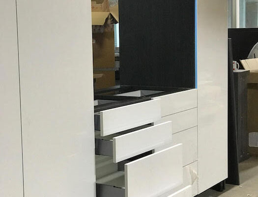 white worktop maximum storage
