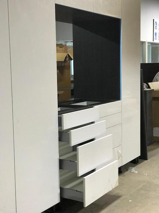 white worktop maximum storage